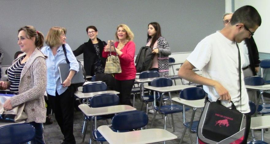Pierce students leaving Mar 2017